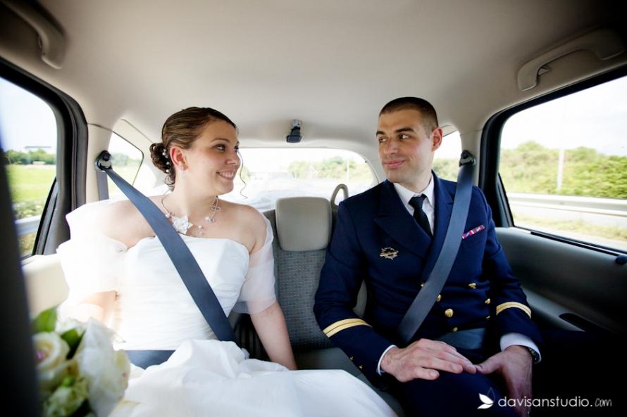 Mariage militaire en Bretagne